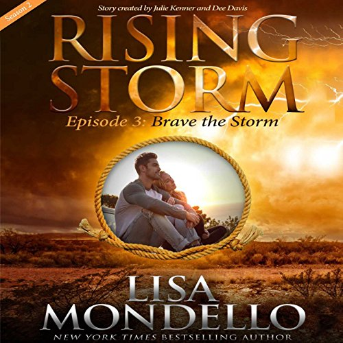 Brave the Storm audiobook cover art
