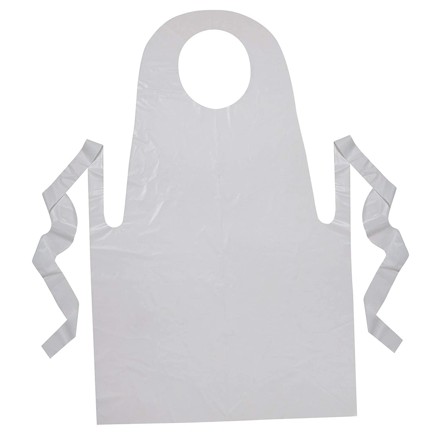 Creativity Street Ranking TOP17 PAC91240 Youth Disposable Popular popular Aprons White x 24