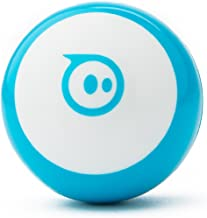 Sphero Mini (Blue) App-Enabled Programmable Robot Ball - STEM Educational Toy for Kids Ages 8 & Up - Drive, Game & Code with Sphero Play & Edu App