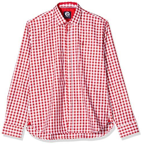 Giorgio Di Mare Hemd rot/weiß 3XL