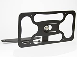 CravenSpeed Platypus License Plate Mount for The Fiat 500 Abarth   2008-2020   No Drilling   Installs in Seconds   Made of Stainless Steel & Aluminum   Made in USA