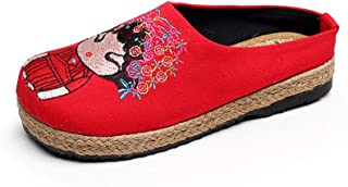 Women Loafers Classic Casual Canvas Fashion Sneakers Driving Shoes