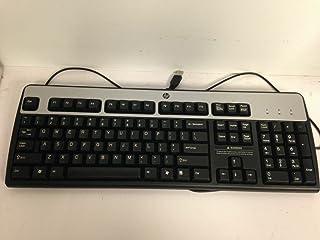 HP Black & Silver USB Keyboard Model# KU-0316 HP Part# 434821-007