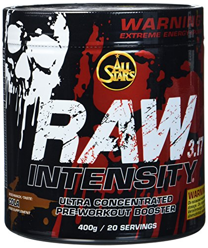 All Stars Raw Intensity 3.17, Cola, 1er Pack (1 x 400 g)