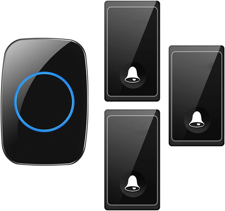 No Battery Wireless Doorbell S Brand Cheap Sale Venue Waterproof Self-Powered Max 53% OFF