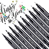 Calligraphy Pens, Hand Lettering Pen, 10 Size Caligraphy Brush Pens for Beginner, Writing, Sketching, Drawing, Illustration, Scrapbooking, journaling