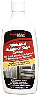 Fresh Solutions 70246 Stainless Steel Cleaner, 16-Ounce, Cream