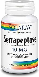 Solaray Serrapeptase 10 mg VCapsules | 90 Count