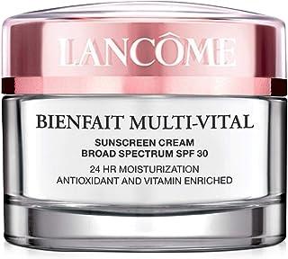 Lancome Bienfait Multi-Vital By Lancome For Women. High Potency Daily Moisturizing Cream Vitamin Enriched Uva/Uvb Spf 30 Sunscreen