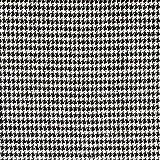Wollstoff Hahnentritt schwarz weiß Modestoffe - Preis gilt