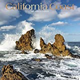California Coast 2022 12 x 12 Inch Monthly Square Wall Calendar with Foil Stamped Cover, USA United States of America Pacific West State Nature