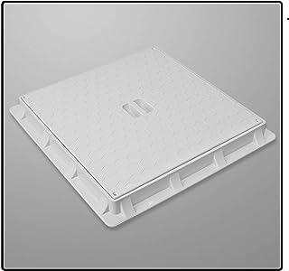 Schachtdeckel Quadratisch 680x680mm Schachtabdeckung Kontrollschacht Revisionsschacht