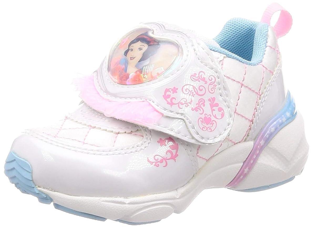 回る優しさスチュワーデス[ディズニー] 運動靴 通学履き アリエル マジック 14-19cm 2E キッズ 女の子 DN C1225