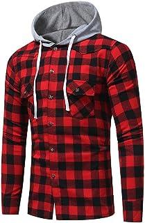 Mens Shirt,Haoricu 2018 Retro Classic Men Gifts Fashion Long Sleeve Hoodies Shirt Casual School Boys Tops Blouse