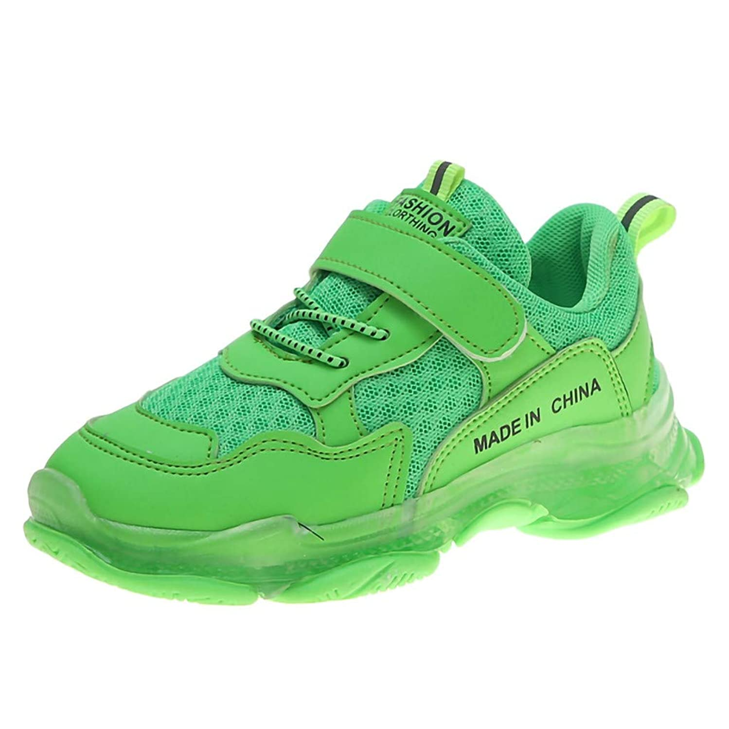 Boys Girls Sneakers,Londony?? Kids Breathable LED Light Up Flashing Sneakers for Children Shoes(Toddler/Little Kid/Kids)
