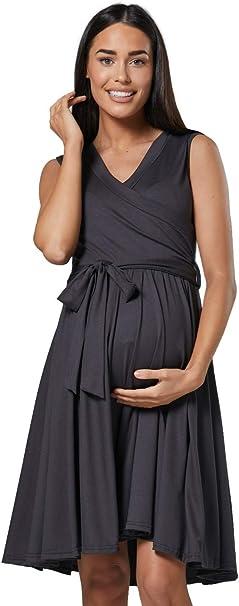 vestido premama terciopelo