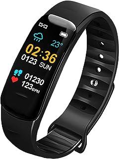 U.Expectating-Home Band 6 Pulsera Actividad Inteligente Pulsera de Actividad con Pulsómetro Sueño Podómetro Monitor de Actividad Impermeable Pantalla HD Smartwatch (Versión Global)