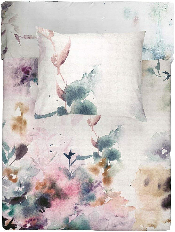 Walra Walra Walra Bettwäsche Renforce Baumwolle Reißverschluss 155x220 80x80 (Flower Dust) B07GC8SK4W e9a76f
