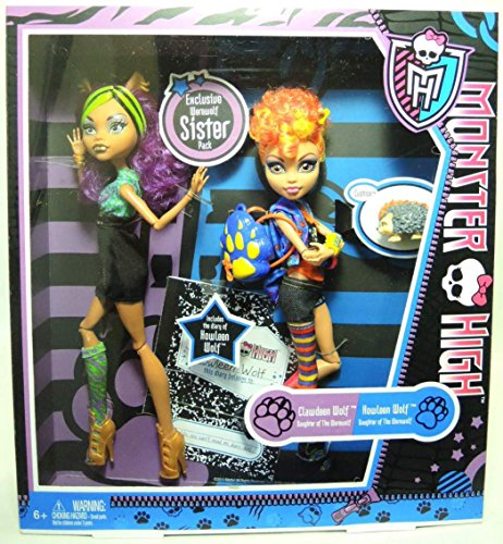 Monster High Clawdeen I Howleen Wolf (X5227) [ZABAWKA]