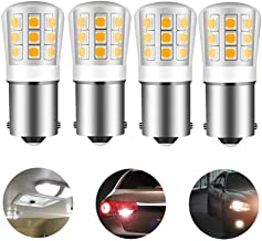 1156 led light bulb replacement 1141 93 P21W 67 12V 35W halogen bulb for RV trailer camper interior Reverse light BA15S single contact bayonet 2.5W 330lm daylight white 5000K pack of 4
