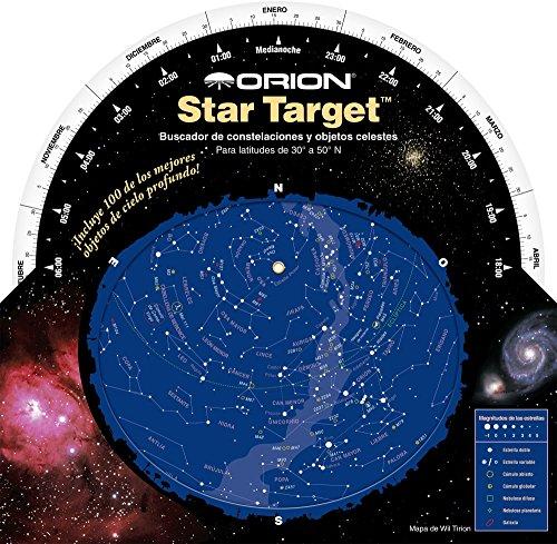 Orion 04125e Telescope Planisphere - Accesorio para telescopios (Telescope Planisphere, Negro, Azul, Cartón, De plástico, 203,2 mm, 203,2 mm)