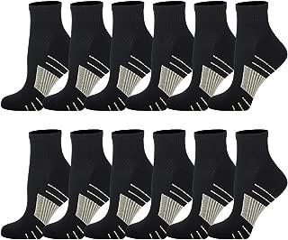 Copper Compression Socks for Men & Women – Athletic Ankle Socks For Medical, Pregnancy