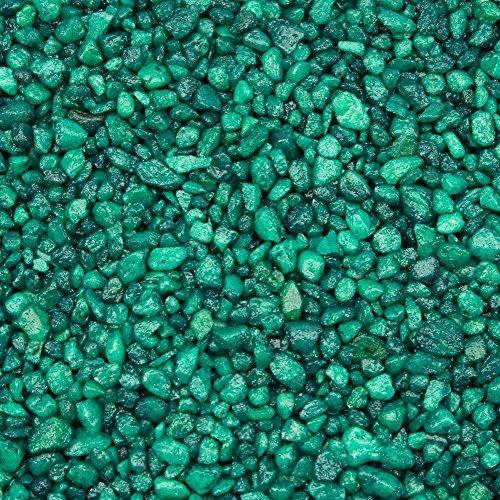 Spectrastone Special Green Aquarium Gravel for Freshwater Aquariums, 5-Pound Bag