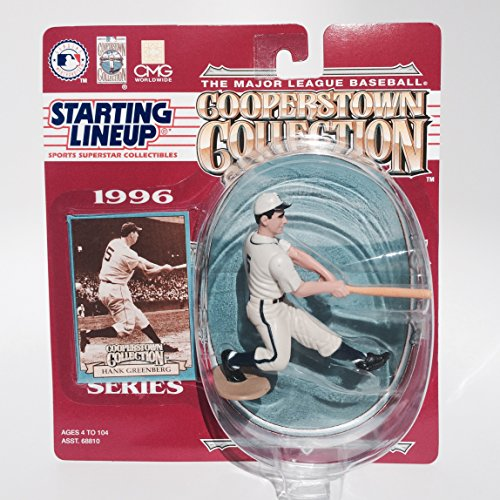 Hank Greenberg Action Figure of the Detroit Tigers - 1996 Starting Lineup - The Major League Baseball Cooperstown Collection by Starting Line Up (English Manual)