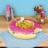 Flotador Donut para centro de mesa o servir en la piscina