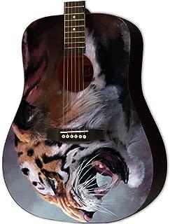 Graphic Acoustic Guitar BOOTLEG ALCHEMY Design