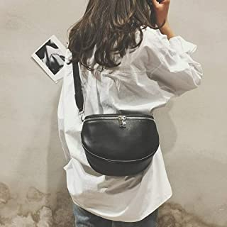 Wultia - New Arrival Fashion Pure Color Women Leather Shell Messenger Shoulder Bag Bust Bag Crossbody Bag Money Phone Travel Hottest #M