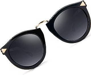 Vintage Fashion Round Arrow Style Polarized Sunglasses for Women