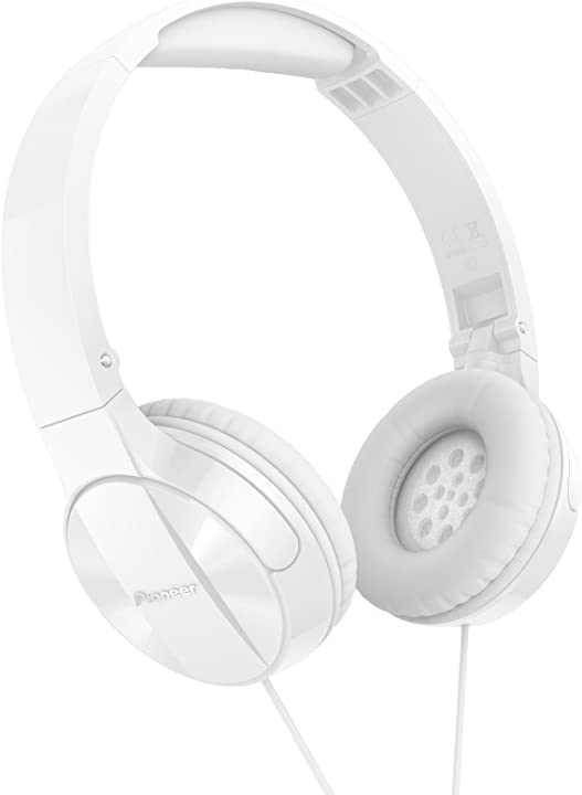 Pioneer mj503 cuffie on-ear con cavo SE-MJ503-W