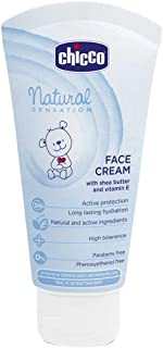 Chicco Natural Sensation - Crema facial hidratante 50 ml