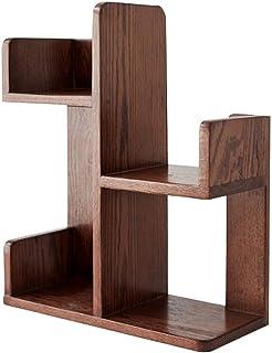 Estante de madera maciza para DVD, cafetería, hotel, ocio, bar, escritorio, gabinete de almacenamiento LP, pintura para es...
