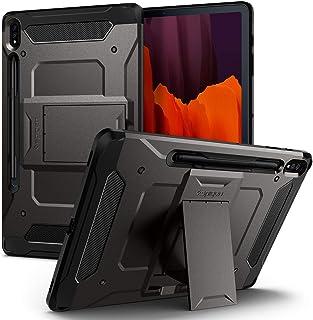 Spigen Tough Armor PRO designed for Samsung Galaxy Tab S7+ PLUS case/cover - Gunmetal