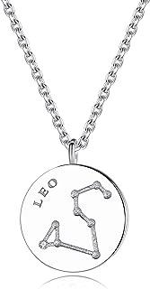 Zodiac Necklace 925 Sterling Silver Constellation Jewelry for Women -VIKI LYNN