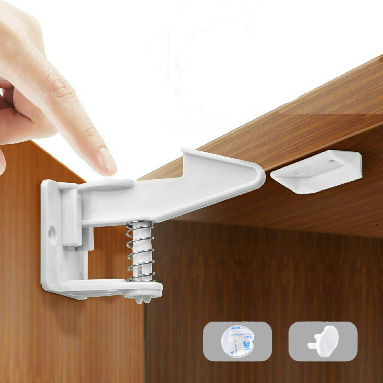 Mybabyly online shopping Baby Proofing Cabinet Locks Drill pcs – No 12 Quantity limited
