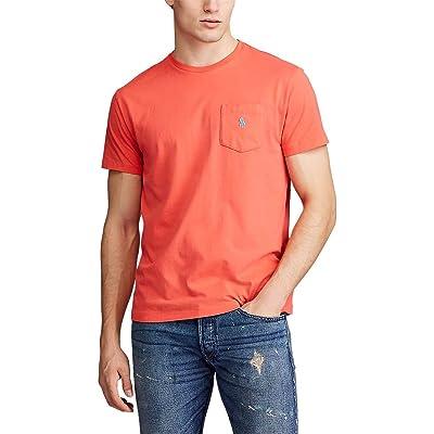 Polo Ralph Lauren Big & Tall Big Tall 26/1 Jersey Short Sleeve Classic Fit T-Shirt (Racing Red) Men
