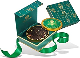VAHDAM, Holiday Breakfast Chai 🎄🎁 Tea Gift Set | LIMITED EDITION Christmas Tea Blend 🎅Presented in a Holiday Gift Box | The Finest Christmas Gift for Everyone ⭐️☕️