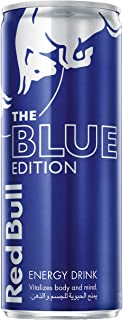Red Bull Energy Drink, Blue Edition, Blueberry, 250 ml