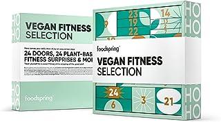 foodspring Vegan Fitness Selection, 1690 g, 24 deurtjes, 24 plantaardige fitnessverrassingen: voor een fitnessvriendelijke...