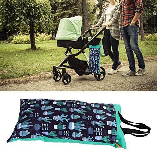 Bolsa de pañales, 40x70 Impermeable, reutilizable, de gran capacidad, para pañales, bolsa de almacenamiento de pañales, puede ser una bolsa de almacenamiento de artículos de tocador de viaje(EF96)