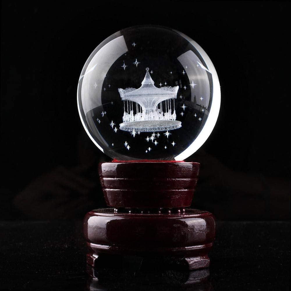 Crystal Ball New product Photography 60mm latest H Clear