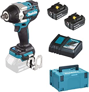 Makita DTW701RTJ Cordless Impact Wrench 18 V / 5.0 Ah, 2 Batteries, Charger in Makpac