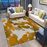 TLMY Wohnzimmer Splash Lotus Teppich, moderner Teppich Wohnzimmer, Schlafzimmer, Bettdecke rutschfeste Antistatik-B._140 * 200 cm.
