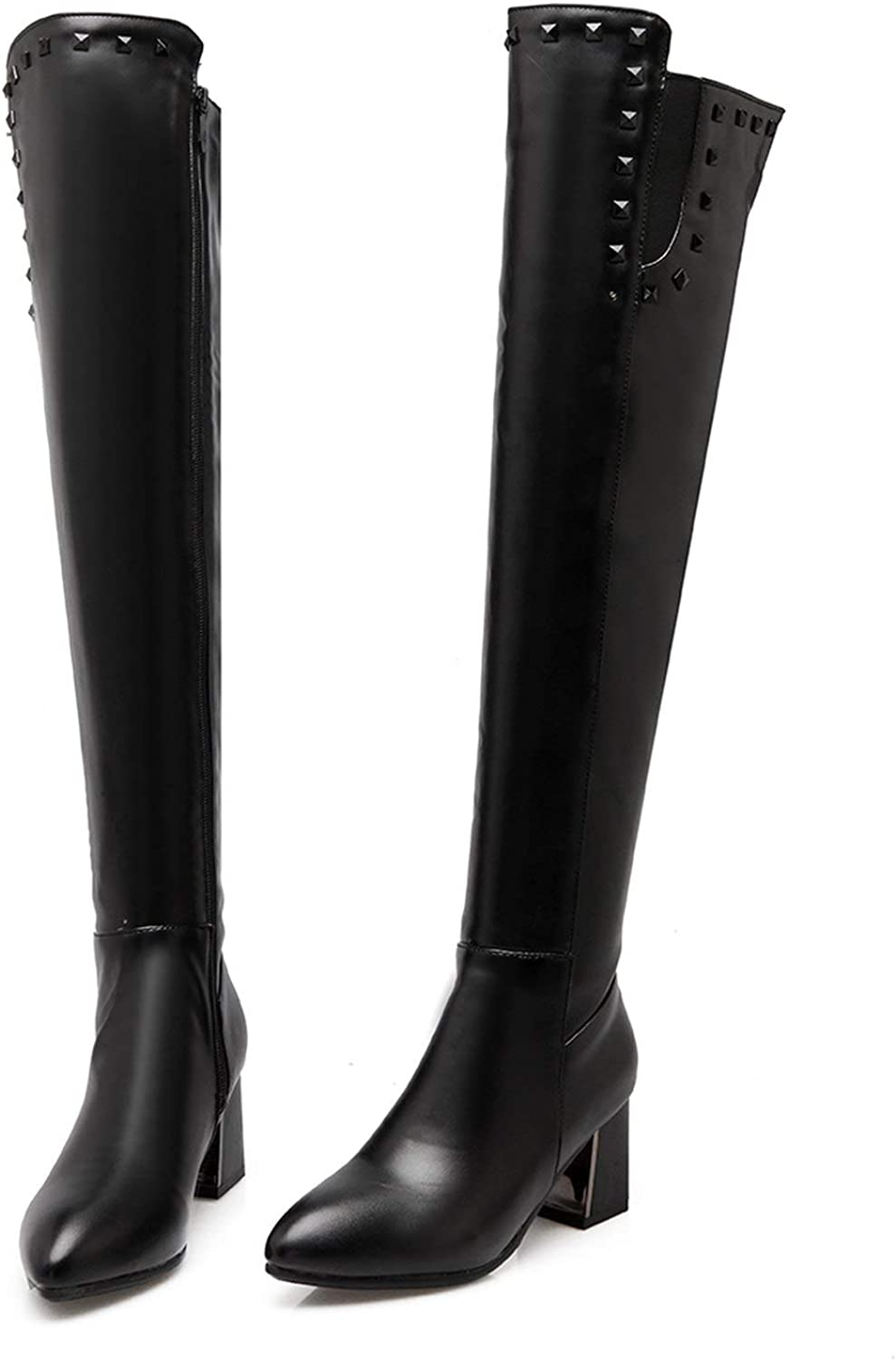 Slim Boots Sexy Over The Knee high Women Snow Boots Women's Thigh high Boots shoes