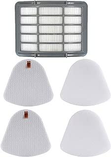 1 Hepa Filter + 2 Pack Pre-Filter Foam & Felt Replacements for Shark XFF350 XHF350 Navigator Lift-Away NV350, NV351, NV352, NV355, NV356, NV356E, NV357, NV360, NV370, UV440, UV540