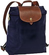 JIWEI Longcham Bag Le pliage Backpack (Navy)