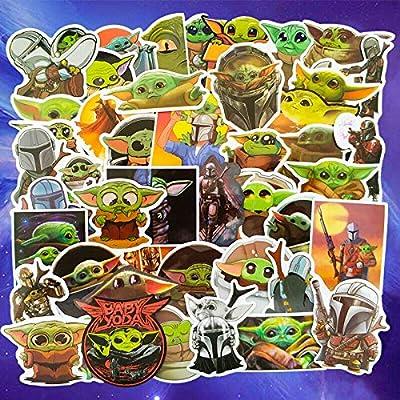 Amazon - Save 60%: Baby Yoda Stickers, Star Wars Gifts, The Child Mandalorian Stickers
